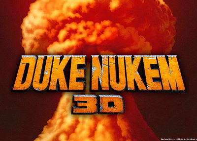 3D view, video games, Duke Nukem - random desktop wallpaper