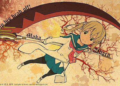 Soul Eater, Albarn Maka - related desktop wallpaper
