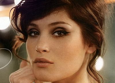 women, outdoors, Gemma Arterton - random desktop wallpaper