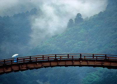 Japan, landscapes, Yamaguchi Prefecture, Kintai Bridge - random desktop wallpaper