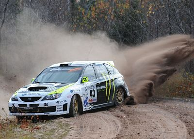 Sand, Cars, Dust, Rally, Ken Block, Vehicles, Subaru Impreza WRC ...