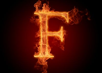 flames, fire, typography, alphabet, letters, typography alaphabet - random desktop wallpaper