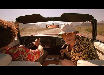 movies, Fear and Loathing in Las Vegas, screenshots, Johnny Depp - related desktop wallpaper