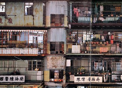 Kowloon Walled City - random desktop wallpaper