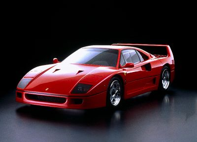 cars, vehicles, Ferrari F40 - random desktop wallpaper