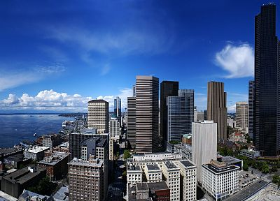 clouds, cityscapes, urban - related desktop wallpaper