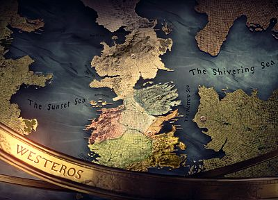 maps, Game of Thrones, TV series - random desktop wallpaper