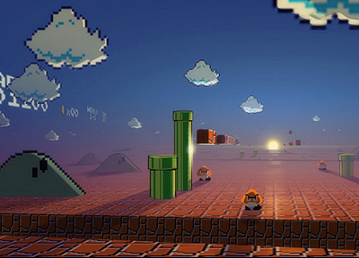 Nintendo, Mario, Super Mario - related desktop wallpaper