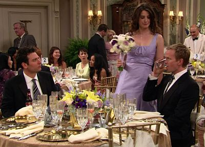 screenshots, Barney Stinson, Cobie Smulders, How I Met Your Mother, Robin Scherbatsky, Josh Radnor - desktop wallpaper
