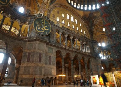 Turkey, Hagia Sophia, Istanbul, Art history - random desktop wallpaper