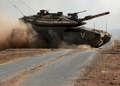 Israel, merkava, tanks, battles - desktop wallpaper
