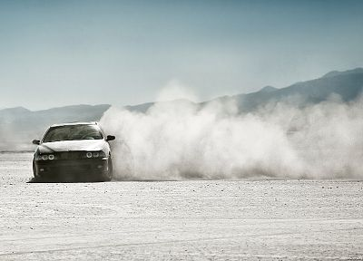 cars, deserts, dust - random desktop wallpaper