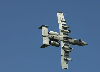 aircraft, military, vehicles, A-10 Thunderbolt II - random desktop wallpaper