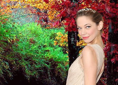 women, actress, photo manipulation, Analeigh Tipton - random desktop wallpaper