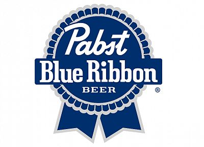 beers, logos, Pabst Blue Ribbon - related desktop wallpaper