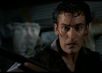 movies, Evil Dead, Bruce Campbell - random desktop wallpaper