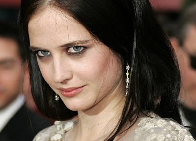 brunettes, women, actress, Eva Green - related desktop wallpaper