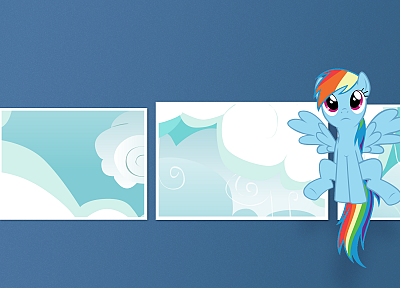 My Little Pony, ponies, Rainbow Dash, My Little Pony: Friendship is Magic - desktop wallpaper