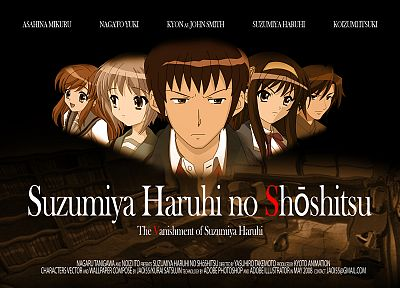 The Melancholy of Haruhi Suzumiya, The Disappearance Of Haruhi Suzumiya - random desktop wallpaper