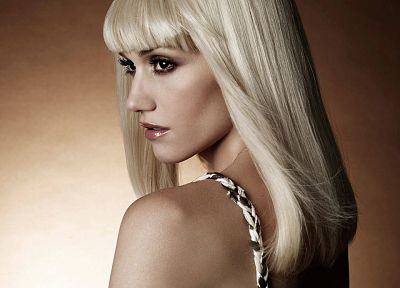 blondes, Gwen Stefani, singers, bangs - random desktop wallpaper