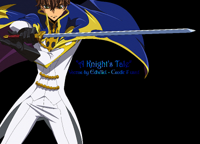 Code Geass, transparent, Kururugi Suzaku, anime vectors - random desktop wallpaper
