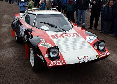 black, red, white, cars, Lancia, Lancia Stratos, rally cars, Lancia Stratos HF, front angle view - related desktop wallpaper