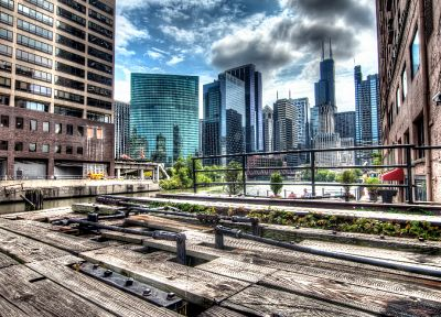 cityscapes, bridges, HDR photography - random desktop wallpaper
