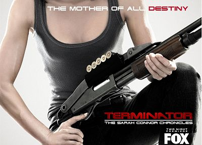 Lena Headey, Terminator The Sarah Connor Chronicles, TV posters - random desktop wallpaper