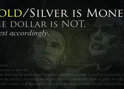 money, gold, silver, dollar bills - related desktop wallpaper