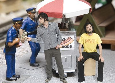 Flight Of The Conchords, Bret McKenzie, Jemaine Clement - random desktop wallpaper