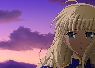 Fate/Stay Night, Saber, anime girls, Fate series - related desktop wallpaper