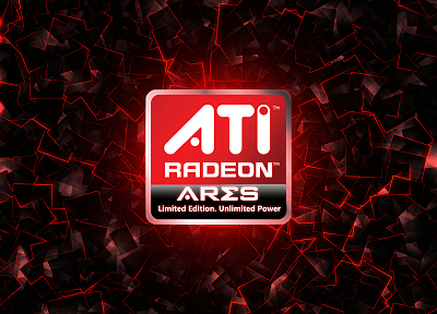 ATI Radeon - random desktop wallpaper