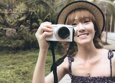 women, Girls Generation SNSD, cameras, Jessica Jung - random desktop wallpaper