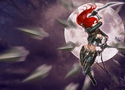 League of Legends, Katarina the Sinister Blade - desktop wallpaper
