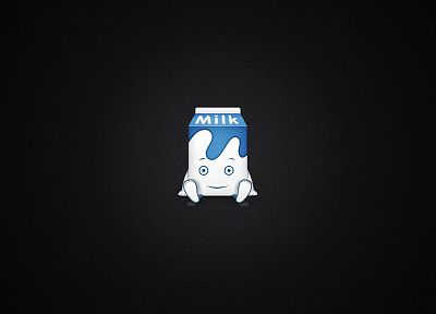 minimalistic, milk - related desktop wallpaper