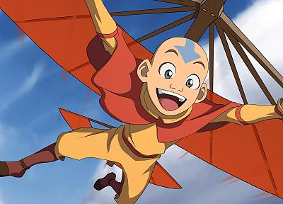 Avatar: The Last Airbender, Aang - desktop wallpaper