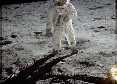 Moon, astronauts, Moon Landing, Buzz Aldrin - related desktop wallpaper