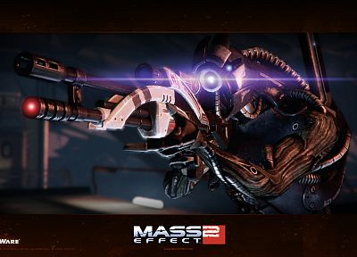 legion, sniper rifles, BioWare, Mass Effect 2, geth - random desktop wallpaper