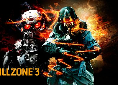 video games, Killzone - random desktop wallpaper