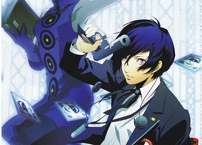 Persona series, Persona 3, anime, Arisato Minato, Elizabeth (Persona 3) - related desktop wallpaper