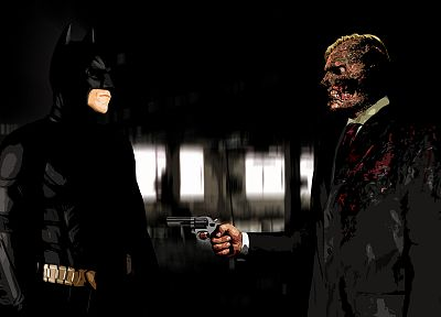 Batman, Two-Face, The Dark Knight - random desktop wallpaper