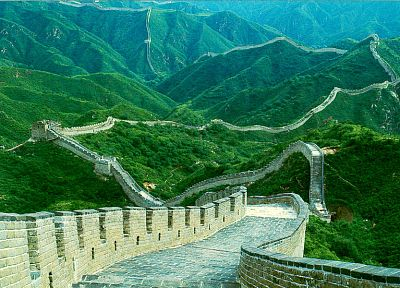 landscapes, Great Wall of China - desktop wallpaper