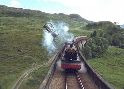 trains, Harry Potter, Harry Potter and the Chamber of Secrets, Hogwarts, Hogwarts Express - related desktop wallpaper