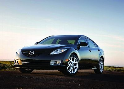 cars, Mazda, vehicles, Mazda 6, Mazda Atenza, front angle view - random desktop wallpaper