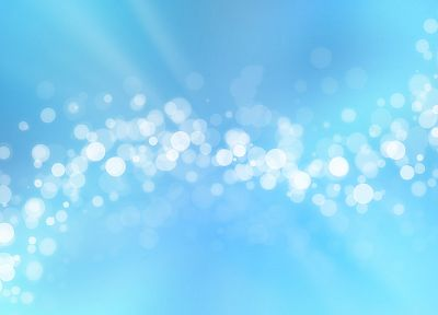 abstract, blue, lights, circles, bubbles, bokeh - related desktop wallpaper