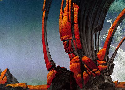 Roger Dean - random desktop wallpaper