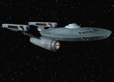 TV, Star Trek, USS Enterprise - random desktop wallpaper