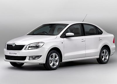 cars, Skoda, white cars, Octavia 2012 - related desktop wallpaper