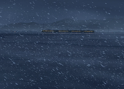 Makoto Shinkai, 5 Centimeters Per Second - desktop wallpaper