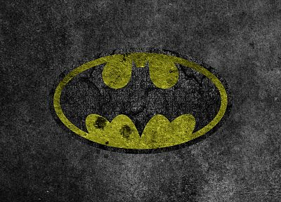 Batman, grunge, logos, Batman Logo - related desktop wallpaper